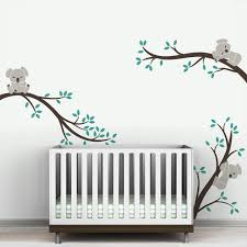Removable Nursery Wall Decals A002 Oversize Removable Koala Tree Branche Diy Wall Decals Wall