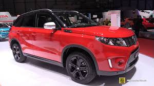 red porsche truck 2016 suzuki vitara exterior and interior walkaround 2016
