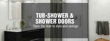 Tub Shower Door Tub Shower Shower Doors At Menards