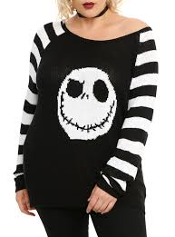 the nightmare before knit sweater plus size