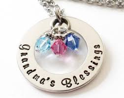 Grandparent Jewelry Gifts Mother Daughter Grandma Gift Grandmother Jewelry Mother Of