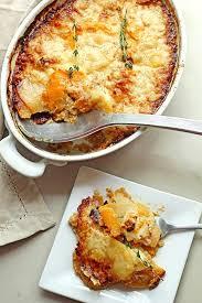 Thanksgiving Potato Recipe Potato And Squash Gratin And Giveaway Grandbaby Cakes