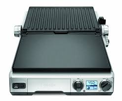 amazon com breville bgr820xl smart grill electric contact grills