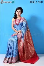 bangladesh saree tangail opera katan saree tsg 17001 online shopping in