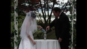 wedding sand ceremony vases wedding unity sand ceremony hd youtube