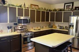 painted green kitchen cabinets home decor gallery