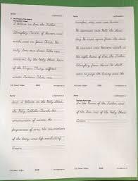 Handwriting Worksheets 4th Grade Catholic Confirmation Quiz Questions U0026 Answers Copybook