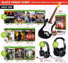 xbox one for black friday gamestop u0027s black friday ads leaked early nerd reactor