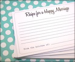Marriage Cards Recipe For A Happy Marriage Cards 50 Cards Advice Cards 4