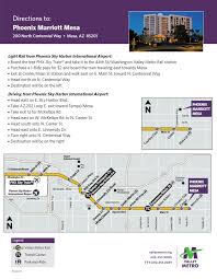 Mesa Arizona Map by Events South West Transit Association