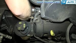 2002 ford explorer v8 transmission how to install replace serpentine engine belt 4 6l v8 2002 08 ford