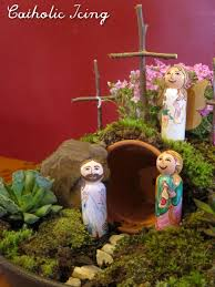 Garden Crafts For Kids - resurrection garden how to make one fast cheap and easy
