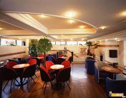 unique restaurants modern and unique wavy ceiling rosso