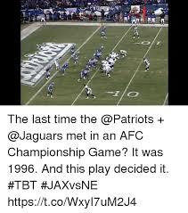 Jaguars Memes - the afc chionship game bortles 6 o memes the jaguars vs the