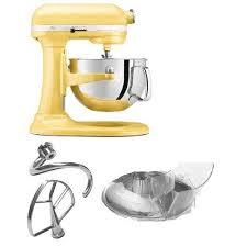 Yellow Kitchen Aid - first kitchenaid mixer u2013 kitchen ideas