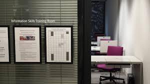 information skills training room social science library