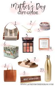 gift guides mother u0027s day gift guide lauren mcbride