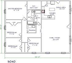 Simple Cottage Floor Plans by Floor Plan For Affordable 1 100 Sf House With 3 Bedrooms And 2