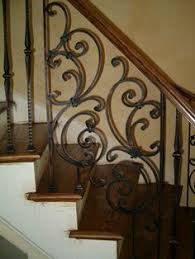 Metal Stair Rails And Banisters Iron Stair Rails And Banisters Sylvan U0027s Custom Iron Works