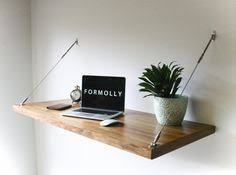 Designer Floating Desk Perfect For Stylish Space Savers This Minimalist Wall Mounted