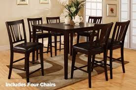 bridgette 5pc pub table and chair set steal a sofa furniture