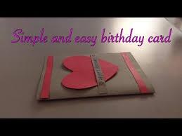 simple and easy birthday card handmade youtube