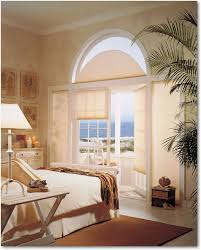 elegant half circle window shades