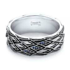black wedding rings for him s custom wedding rings joseph jewelry bellevue seattle