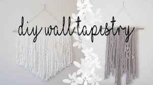 easy diy wall tapestry home decor idea youtube