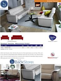stressless panorama 3 seat sofa by ekornes