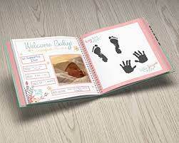 baby girl memory book year baby memory book baby journal modern baby shower