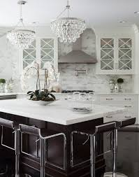 Robert Abbey Bling Chandelier New York Robert Abbey Bling Kitchen Traditional With Island Faux
