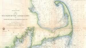cape cod nautical map 1857 youtube