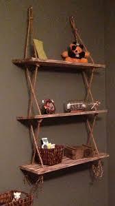 Best 25 Ladder Shelves Ideas by Best 25 Shelves Ideas On Pinterest Etsy Furniture Hanging