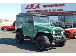 jeep toyota 1970 to 1972 toyota land cruiser for sale on classiccars com