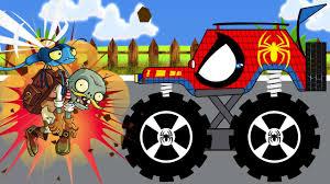 monster truck videos for spiderman monster truck videos for children monster truck assembly