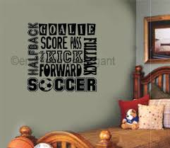 wall ideas custom word art for walls framed word art for walls custom word art for walls wood word art for walls soccer sports subway vinyl wall decal lettering soccer player word collage mural art wall sticker boys