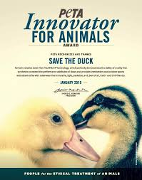 save the duck u0027s revolutionary plumtech outperforms down peta
