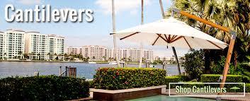 attractive large patio umbrellas cantilever premium umbrellas and