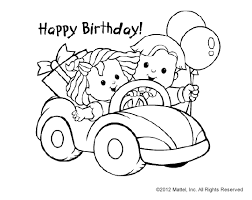 cute print u0026 color birthday cards fun for big brother or sister