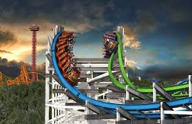 Six Flags Magic Mountain by Six Flags Magic Mountain Announces Twisted Colossus Coaster101