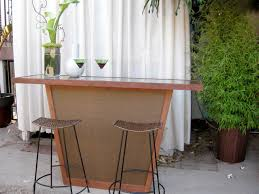 Bar Top Pictures by Build An Outdoor Bar With A Pebble Top Hgtv