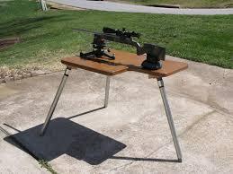 Portable Shooting Bench Building Plans Built A New Portable Shooting Bench Georgia Outdoor News Forum