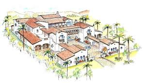 style courtyards courtyard home plans house plans style at home source