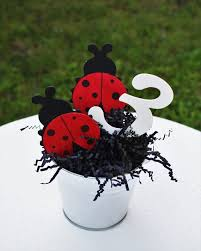 Centerpieces Birthday Tables Ideas by Best 25 Ladybug Centerpieces Ideas On Pinterest Ladybug Party