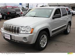 silver jeep grand cherokee 2007 2006 jeep grand cherokee laredo 4x4 in bright silver metallic
