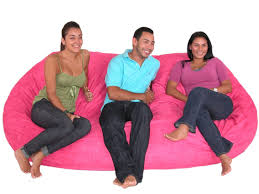 huge pink bean bag chair beanbagcouch geeky nerdy awesome