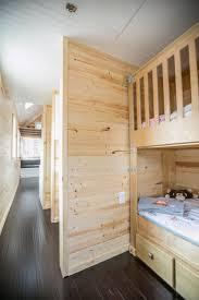 the kids room in the hogan s haven tiny house bunk beds give the kids room in the hogan s haven tiny house bunk beds give each child