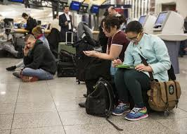 delta air lines travelers face delays cancellations monday after
