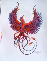 phoenix tattoo design teegan by ashleighknows on deviantart